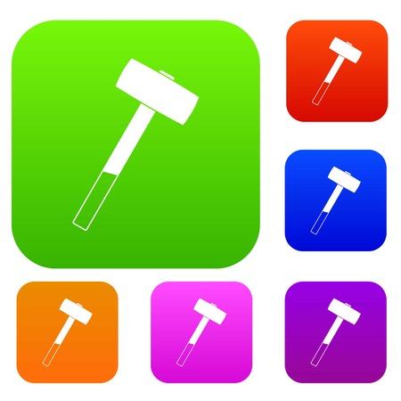 anvil: Sledgehammer set color collection