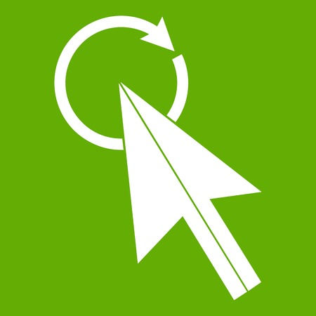 Click icon green