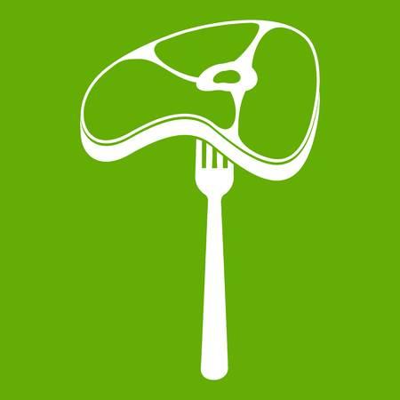 Steak icon green