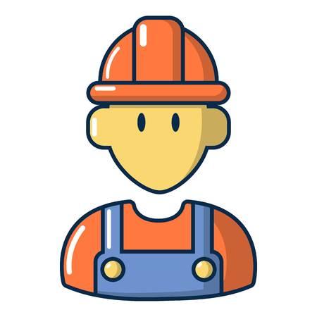 male symbol: Builder icon, cartoon style