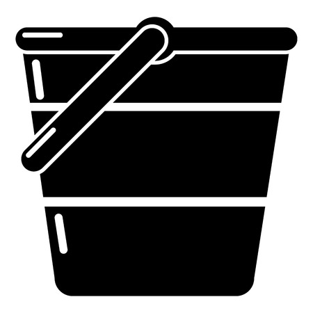 tin: Bucket icon
