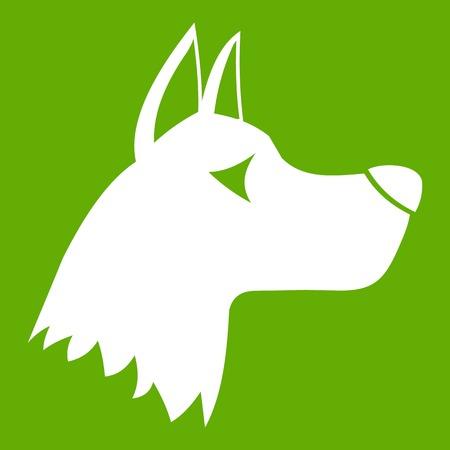 Doberman dog icon Illustration