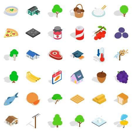 Random Icons set Illustration