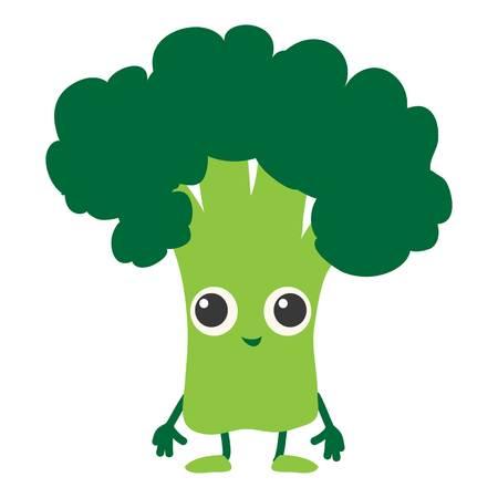 Broccoli icoon. Cartoon illustratie van broccoli vector icoon voor web