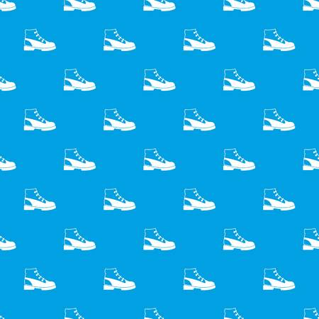 male symbol: Men oxfords pattern repeat seamless in blue color for any design. Vector geometric illustration Illustration