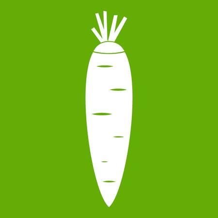 Carrot icon green