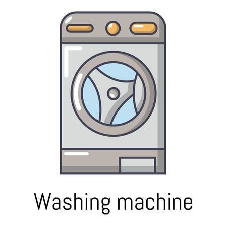 dryer: Washer icon. Cartoon illustration of washer vector icon for web