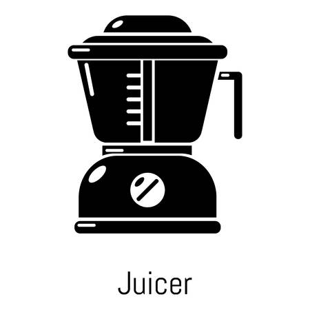 Juicer icon. Simple illustration of juicer vector icon for web Illustration