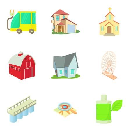Icônes de jeu de couchage . jeu de dessin animé de 9 icônes de couchage de couchage pour vecteur web isolé sur fond blanc Banque d'images - 87746652