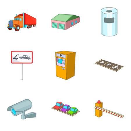 Icônes de la région . ensemble de bande dessinée de 9 icônes de vecteur de la banque pour le web isolé sur fond blanc Banque d'images - 87747487