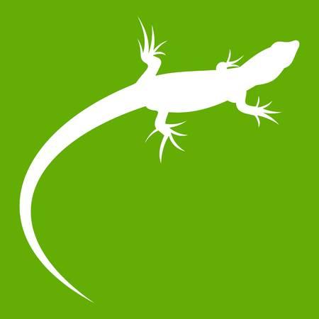 Lizard icon green