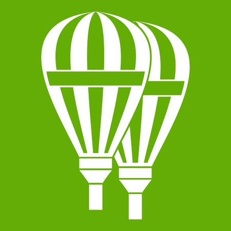 airship: Balloons icon green