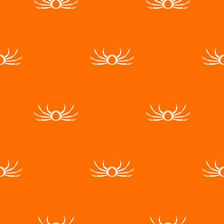 Japanese spider crab pattern Illustration