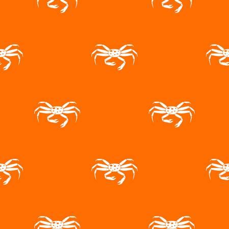 Crab seafood pattern seamless
