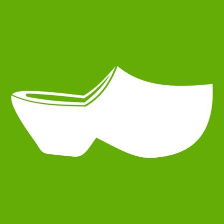 Clogs icon green