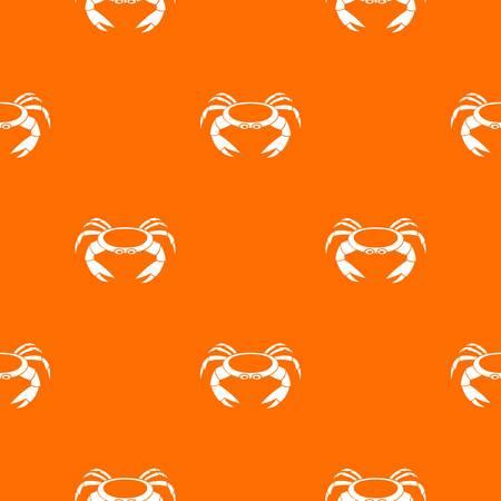Raw crab pattern seamless