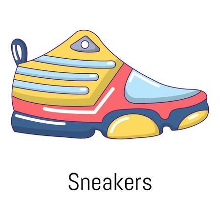 Icona di scarpe da ginnastica . Illustrazione vettoriale di scarpe da ginnastica icona vettoriale per il web