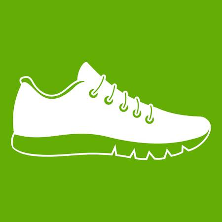 Sneakers icon green.