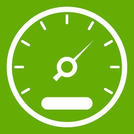 Speedometer icon green
