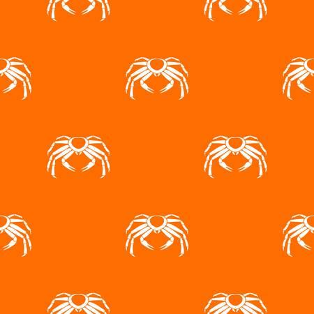 Snow crab pattern seamless