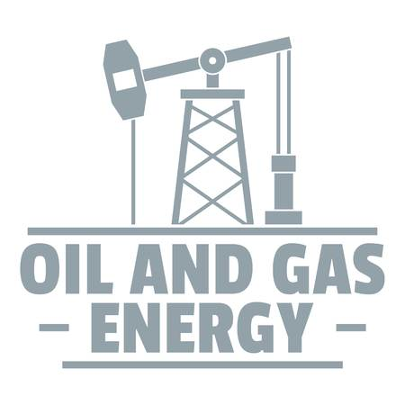 Simple illustration of oil pump vector  for web