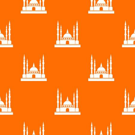 Mosque pattern seamless
