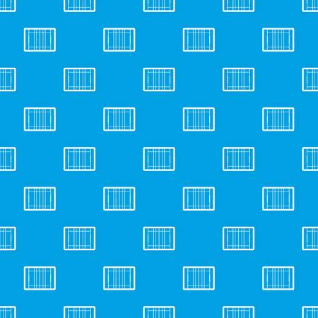 Rugby field pattern seamless blue