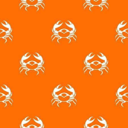 Big crab pattern seamless