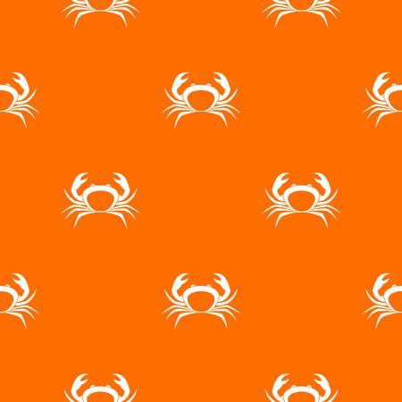 Crab pattern seamless