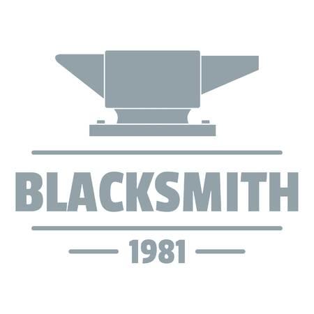 Blacksmith logo, vintage style Illustration