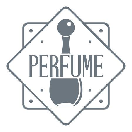 Logo del negozio di profumi, stile vintage
