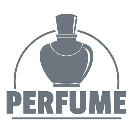 Perfumery logo, vintage style Illustration