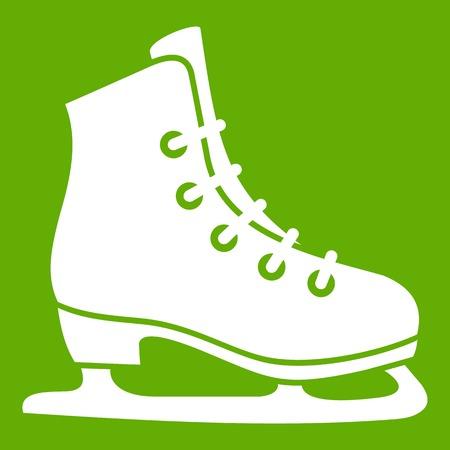 Skates icon green