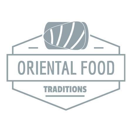 Oriental food   simple gray style