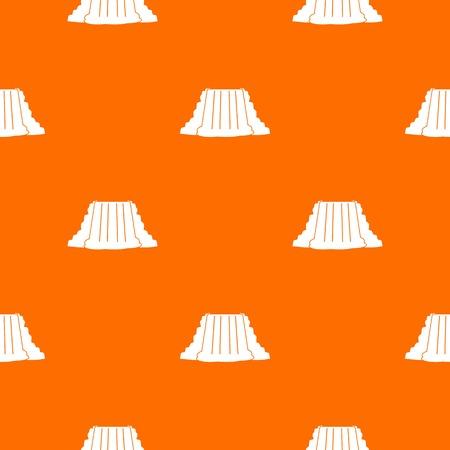 Niagara Falls pattern seamless Illustration