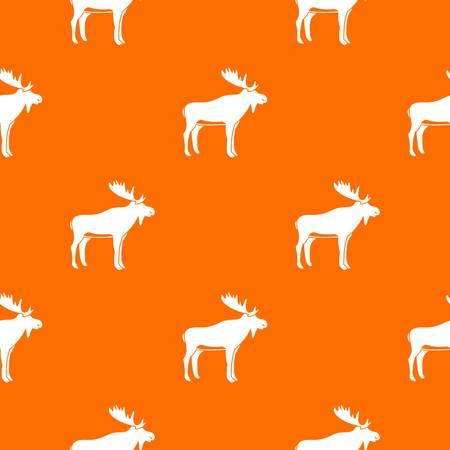 Deer pattern seamless