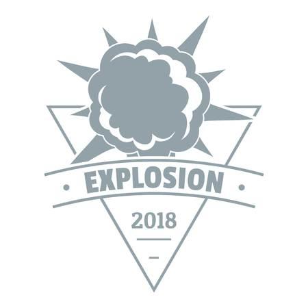 Storyboard: Powerful explosion logo. Simple illustration of powerful explosion vector logo for web Illustration