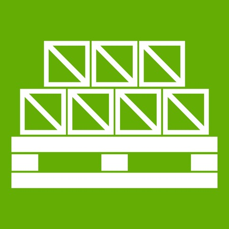 Dozen goederen pictogram groen