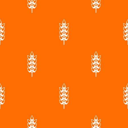 Long spica pattern seamless