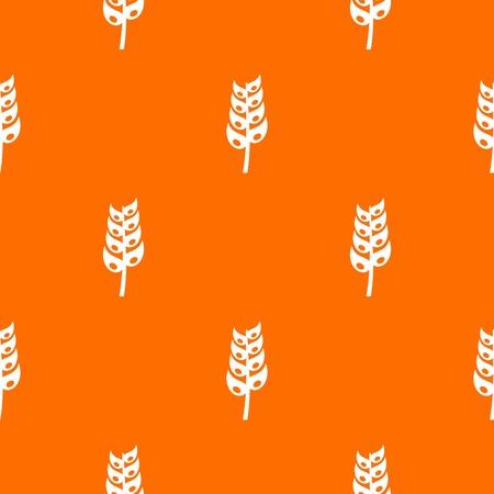 Ripe spica pattern seamless