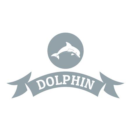 Dolphin simple gray style