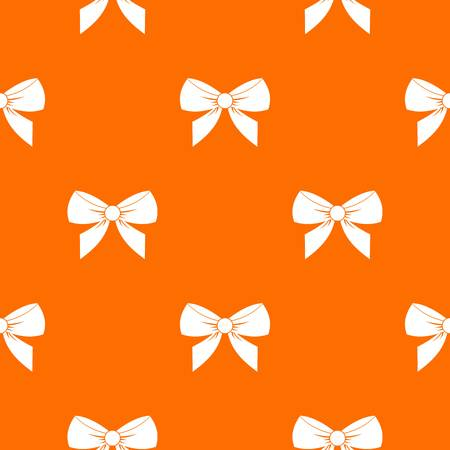 Bow pattern seamless Illustration