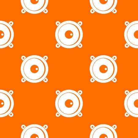 Audio speaker pattern seamless Illustration