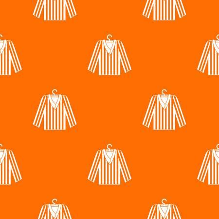 Striped pajama shirt pattern seamless