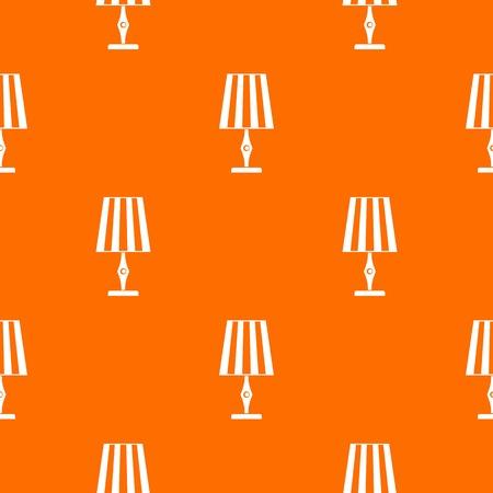 Table lamp pattern seamless