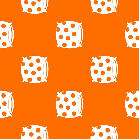 Pillow with dots pattern seamless