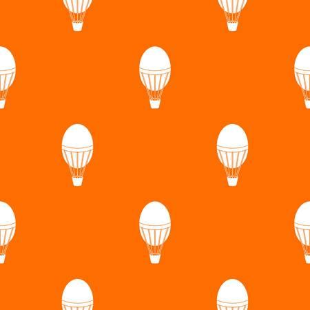 Hot air balloon pattern seamless Illustration