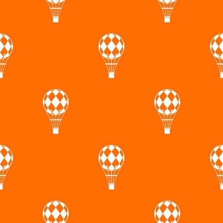 Checkered air balloon pattern seamless