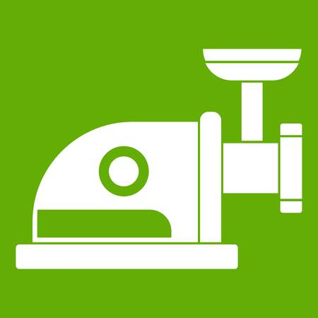 Electric grinder icon green