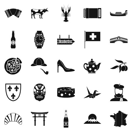 Icônes de la liste . set simple de 25 icônes vectorielles de sauvegarde pour le web isolé sur fond blanc Banque d'images - 88752181